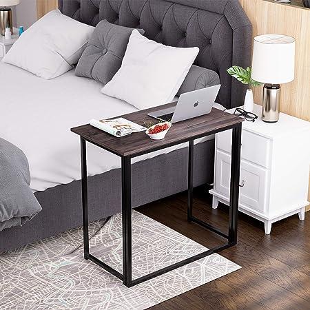 Escritorio para ordenador portátil Homfa, mesa plegable pequeña ...