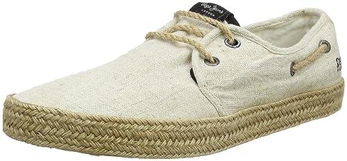 Pepe Jeans London PMS10230 - Alpargata Hombre, Beige (Beige), 40 EU: Amazon.es: Zapatos y complementos