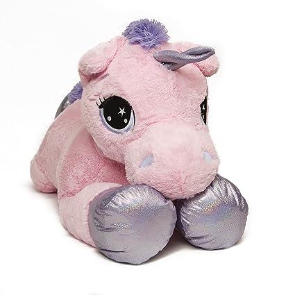 0b9d81bf343 Hamleys Large Unicorn Soft Toy  Amazon.co.uk  Toys   Games