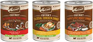 Merrick Chunky Recipes Variety Pack Wet Dog Food, 12.7 oz, case of 12