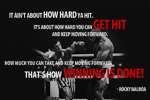 Amazon Com Rocky Balboa Motivational Quote Doesn T Matter