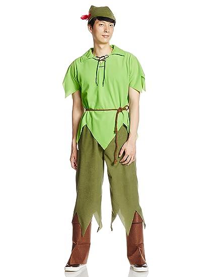 Disney Classic-Style Peter Pan Costume - Teen/Menu0027s S/M Costume  sc 1 st  Amazon.com & Amazon.com: Disney Classic-Style Peter Pan Costume - Teen/Menu0027s S/M ...