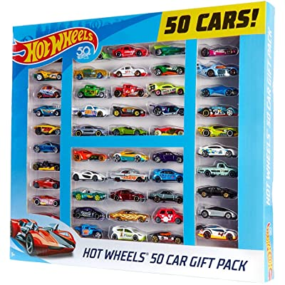 Hot Wheels 50 Car Gift Pack: Toys & Games