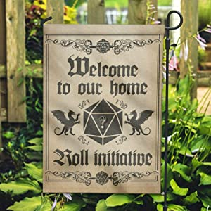 """UTF4C Welcome to Our Home Roll Initiative - Garden Flag/House Flag - 18"""" x 12"""""""