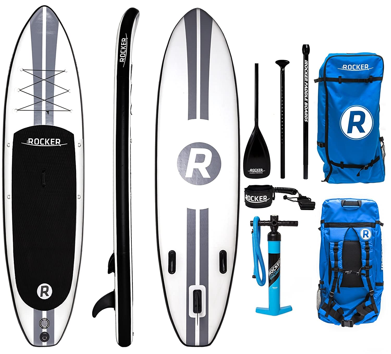 iROCKER All-Around Hinchable Stand Up Paddle Board 11 de Largo 32 ...