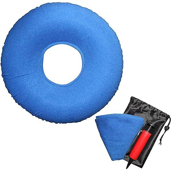 Amazon.com: PREMIUM cuadrado Donut inflable Almohada Se ...
