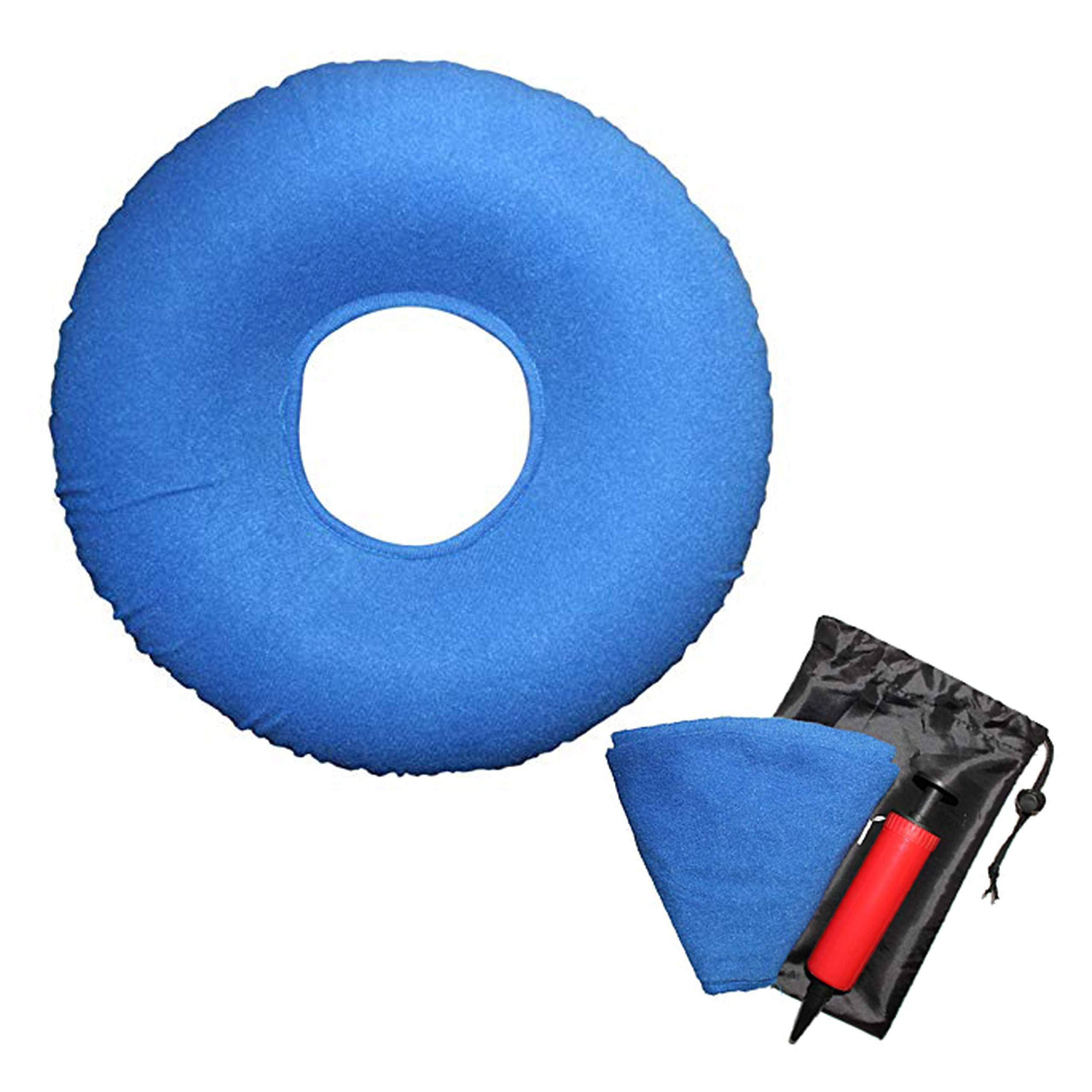 Carex Inflatable Donut Cushion For Tailbone Pain