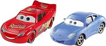 Disney Pixar Cars 3 Lightning McQueen and Sally 2-pack vehicle: Amazon.es: Juguetes y juegos