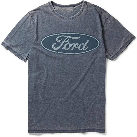 Ford Oval Logo Distressed T-Shirt