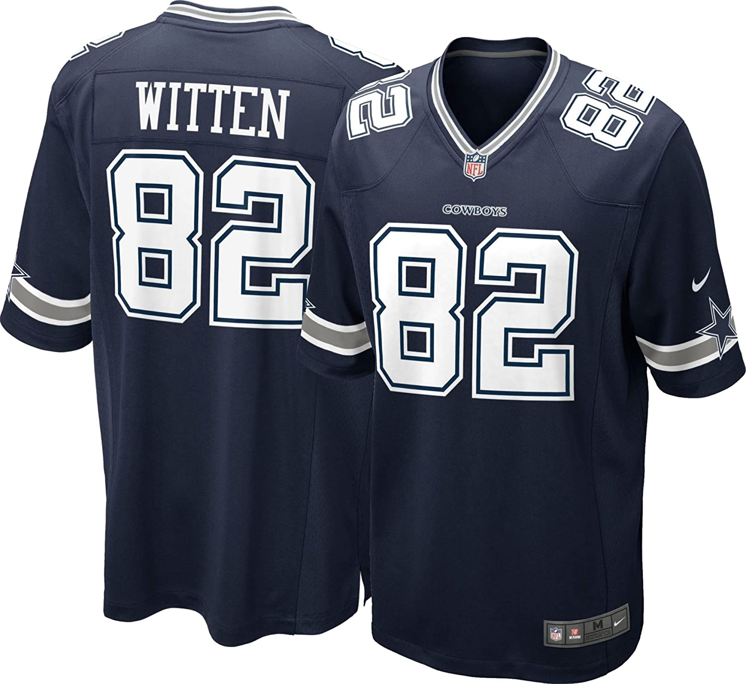 da9f3e99116 Amazon.com : Dallas Cowboys Youth Jason Witten #82 Game Replica Jersey  (Youth Sizes) : Clothing