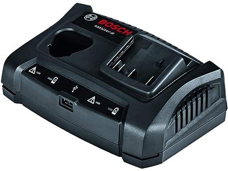 Amazon.com: Bosch GAX1218V-30 Cargador de batería de doble ...