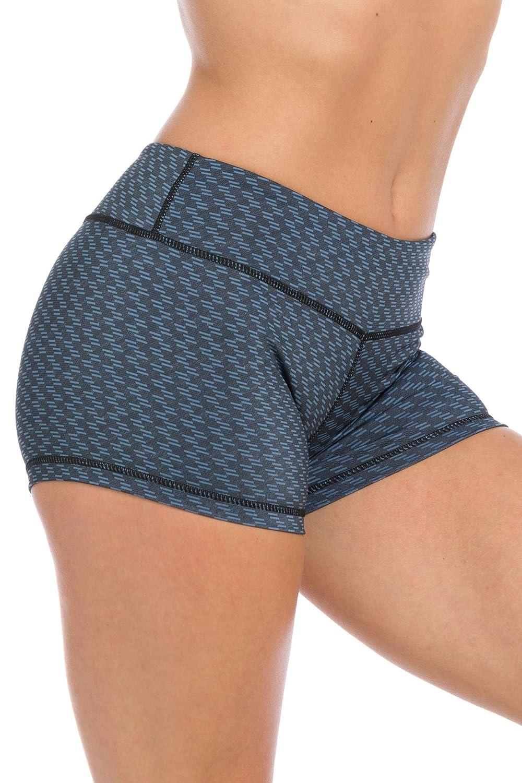 IABMFG Premium 3 Workout Booty Shorts WOD Running Fitness Yoga