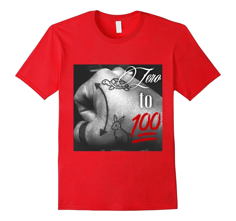 Zero To 100 Motorcycle T Shirt-TJ