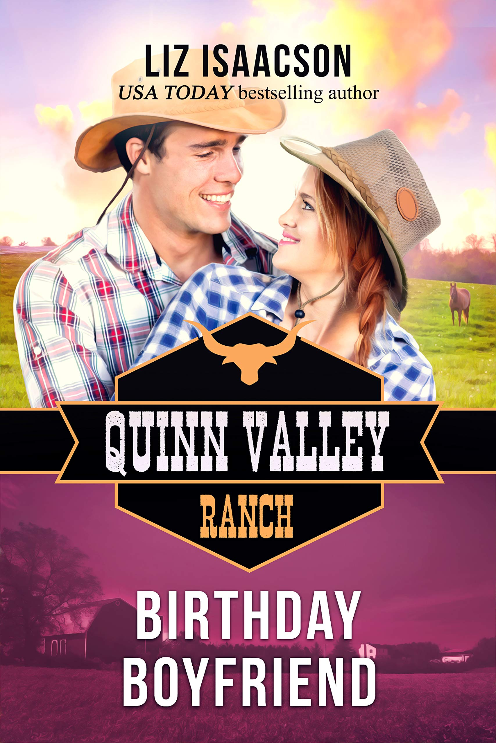 Birthday Boyfriend  Quinn Valley Ranch Book 21   English Edition