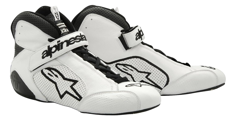 2710112-21-5 White//Black Size-5 Tech 1-T Shoes Alpinestars