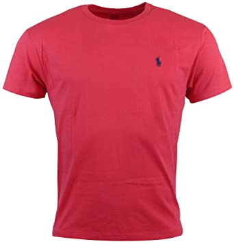 a61fb42db Image Unavailable. Image not available for. Color: Polo Ralph Lauren Mens  Classic Fit Solid Crewneck T-Shirt ...