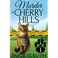 Murder in Cherry Hills (Cozy Cat Caper Mystery Book 1) (English Edition)