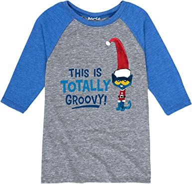 Pete the Cat This is Totally Groovy Toddler Raglan