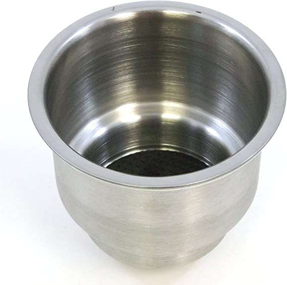 """2 x 3.2/"""" High Hot Stainless Steel Cup Drink Holder For Marine Boat Car Truck RV#"""