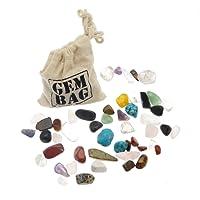 Mini trésor sac mélangé des pierres précieuses