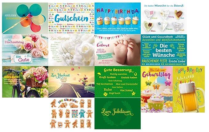 gutsch Verlag 4031812002971 Tarjetas de felicitación con ...