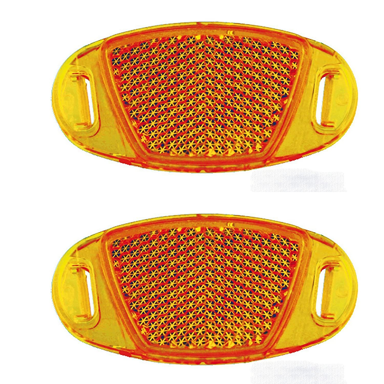 Reflectores Catadriopticos Reflex para Radios de Rueda Bicicleta Naranja Catadriopticos 3328