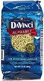 Da Vinci Alphabet Pasta - 12 oz (Pack of 1)