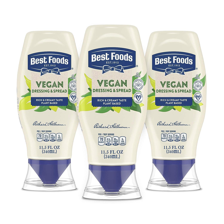 Best Foods Vegan Squeeze 11.5oz, Pack of 3