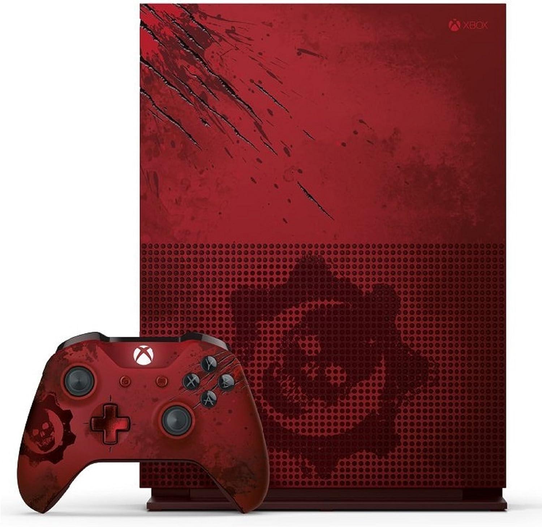 Xbox One S 2 TB Konsole - Gears Of War 4 Limited Edition Bundle [Importación Alemana]