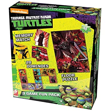 Nickelodeon Teenage Mutant Ninja Turtles Caja de Juego de ...