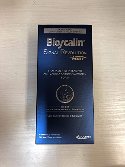 bioscalin Signal Revolution Men Foam tratamiento anticaída de espuma