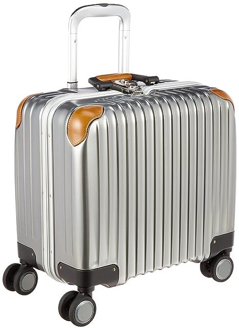 6d12b68f1e Amazon   [カーゴ] スーツケース ハードキャリー フレーム TW43WL 横型ビジネス 機内持込可 保証付 33L 43cm 3.6kg  TW42WL WHITE GOLD ホワイトゴールド   スーツ ...