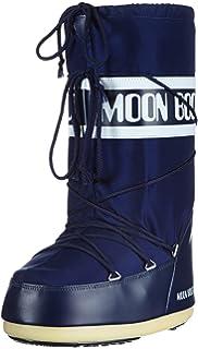 Moon Boot Nylon 14004400 - Bottes de Neige - Mixte Enfant Rouge (Rosso) 35-38 EU