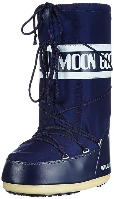 Moon Boot Nylon - Chaussures Pour Femmes / Botte Noire De Lune dbWjJq5