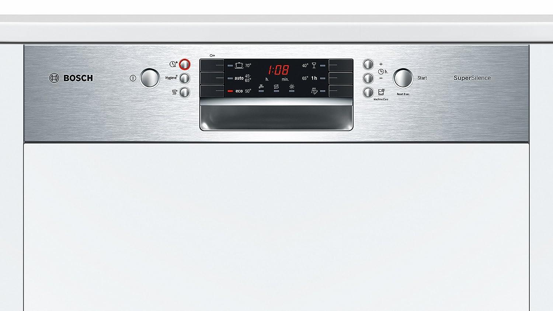 Bosch Serie 4 SMI46MS03E lavavajilla Semi-incorporado 14 ...