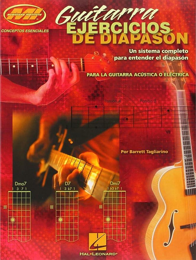 Guitarra Ejercicios de Diapason (Guitar Fretboard): Tagliarino ...