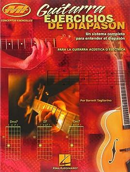 Guitarra Ejercicios de Diapason (Guitar Fretboard): Barrett Tagliarino: Amazon.es: Instrumentos musicales