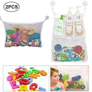 Baby Badewanne Spielzeug Bad Tasche Aufbewahrung Netz Bath Storage Bag Toy Mesh