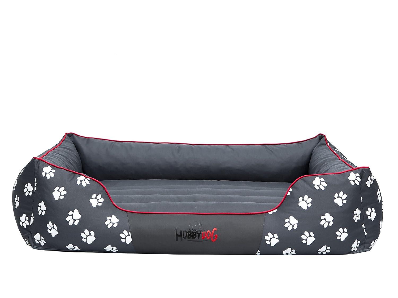 Hobbydog - Cama para Perro, Gris (Con Patas), XXL (110x90x25 cm): Amazon.es: Productos para mascotas