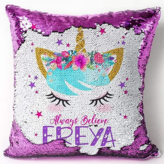 Purple Always Be Yourself Unless Unicorn  Long Cushion Covers Pillow Cases
