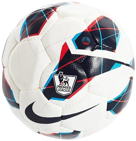 Nike Maxim Premier - Balón de fútbol, tamaño 5 UK, Color Blanco ...