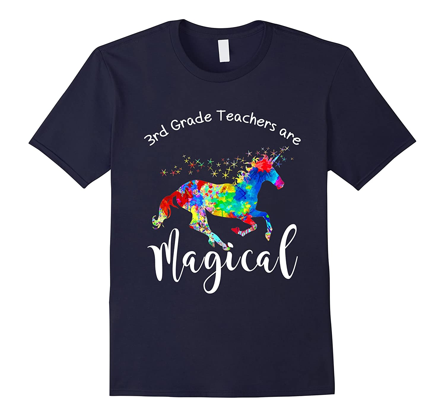 3rd Grade Teachers are Magical T-Shirt-BN