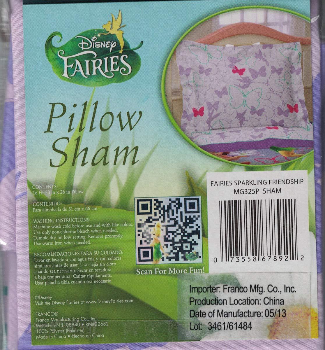 Disney Fairies Sparkling Butterflies Pillow Sham by Disney (Image #1)