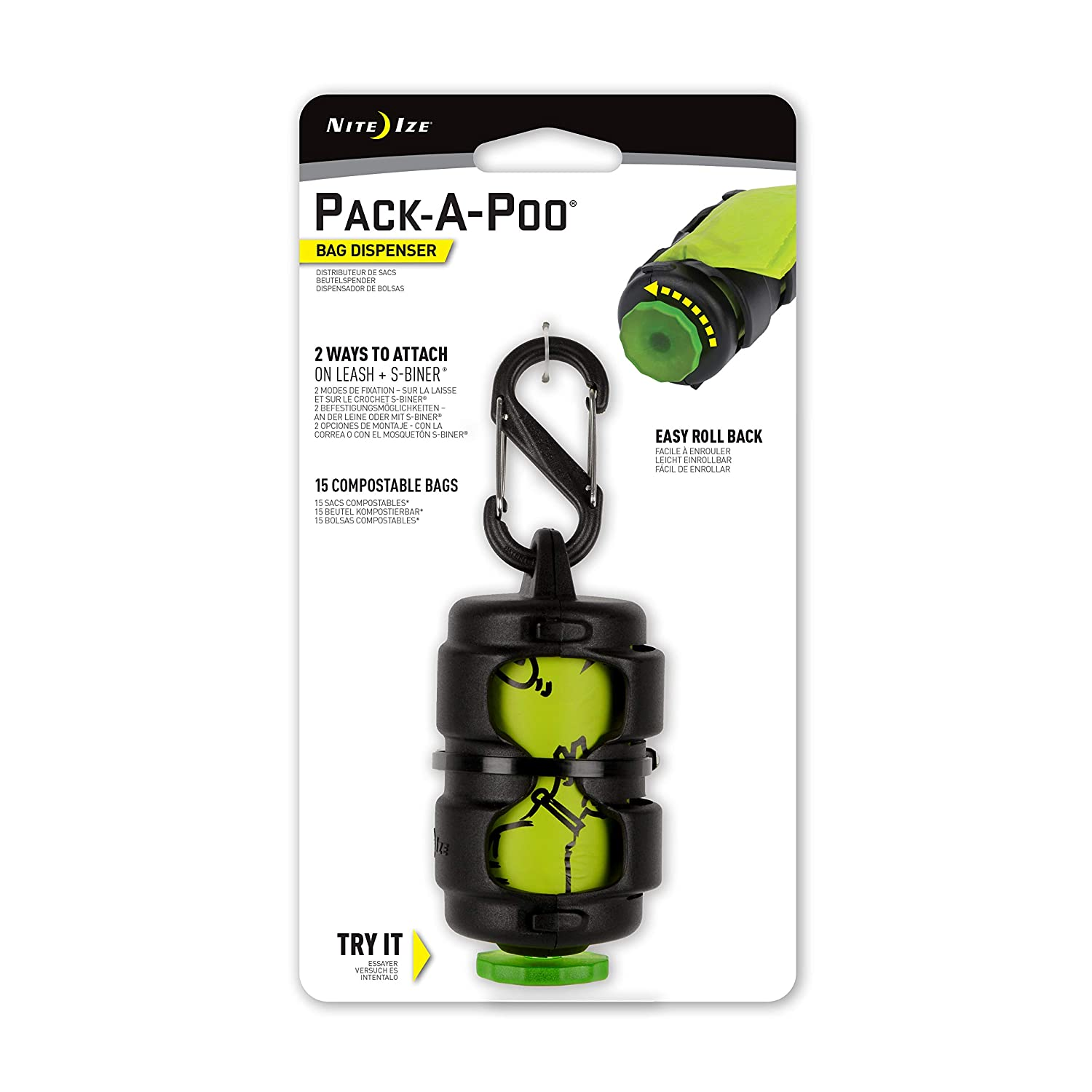 Nite Ize Pack-A-Poo Bag Dispenser
