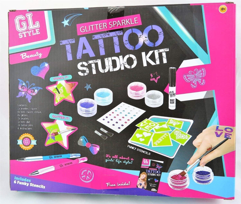 Ultimate Tattoo Studio Age 8 Great Christmas Gift Grafix 200
