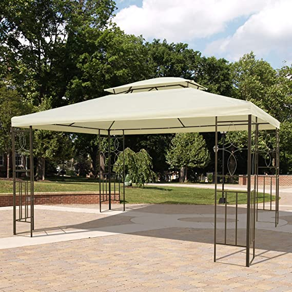 Outsunny Gazebo Cenador para Terraza Jardín Patio - Tipo Carpa ...
