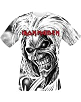 Iron Maiden Killers Allover T-Shirt bianco