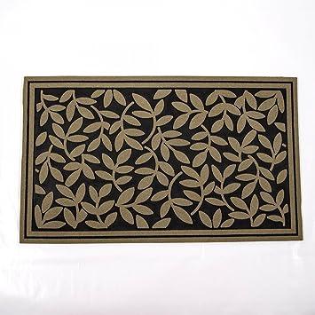 türvorleger nylonflock fussmatte gummi wetterfest matte pflanzen ... - Fußmatte Küche