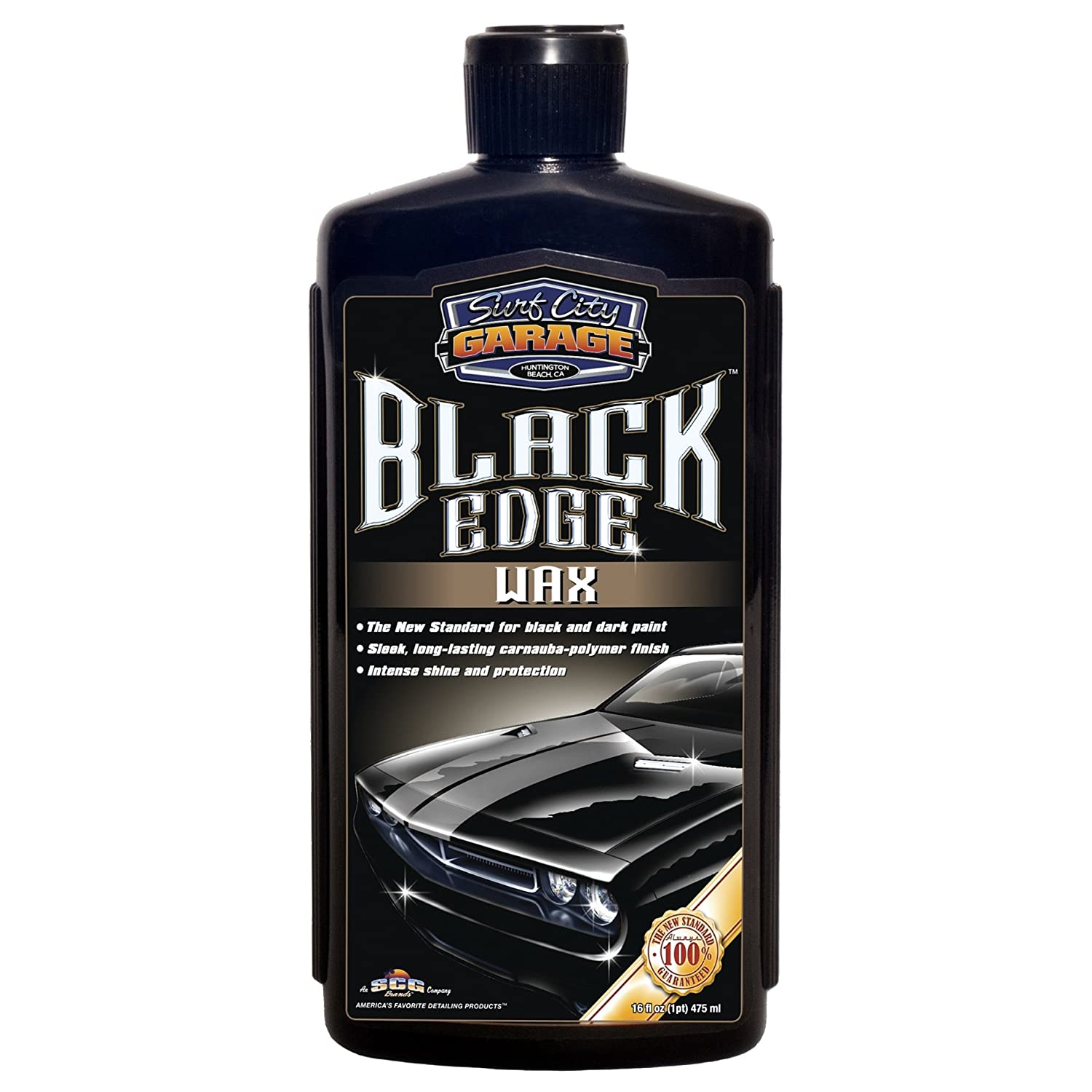 Surf City Garage 922 Black Edge Carnauba Wax, 16 oz.