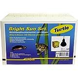 Lucky Reptile BSST-70 Bright Sun Set,Turtle 70 W, Metalldampflampe inklusive passende Fassung und Vorschaltgerät für Wasserschildkröten